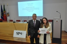 "SPM Master Thesis Award  Ana Carina Ferreira Lopes Universidade do Minho- Departamento de Engenharia de Polímeros ""Study and evaluation of different combinations of virgin and processed PA material for Selective Laser Sintering technology"""