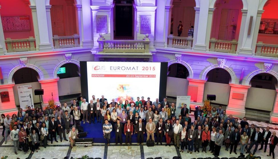 Delegates at Euromat 2015 in Warsaw